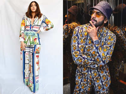 Bhumi Pednekar's suit reminds us of Ranveer Singh