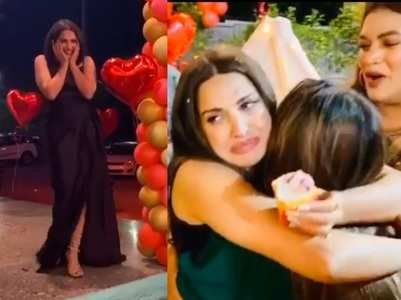 Watch: Himanshi emotional on her bday