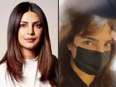 Priyanka shares a selfie sporting new look