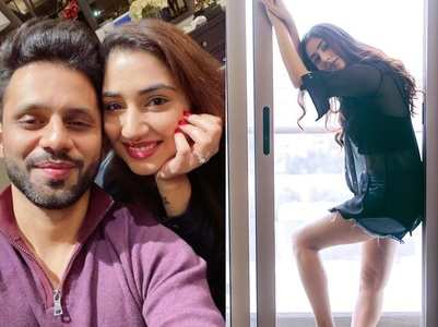 Rahul Vaidya's GF Disha is high on style