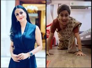 Gul Panag on her viral saree push-up video