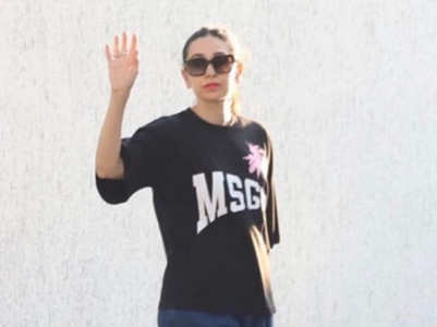 Photo: Karisma Kapoor says 'bye' to 2020
