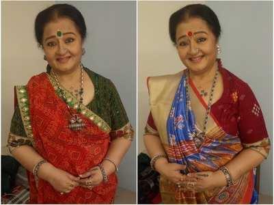 Apara: I dress up like Kesar Ba in real life