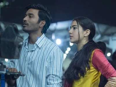 Watch: Sara works out with co-star Dhanush