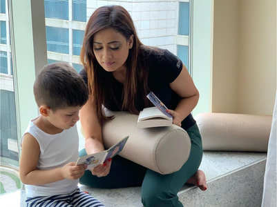 Shweta Tiwari's son Reyansh turns four