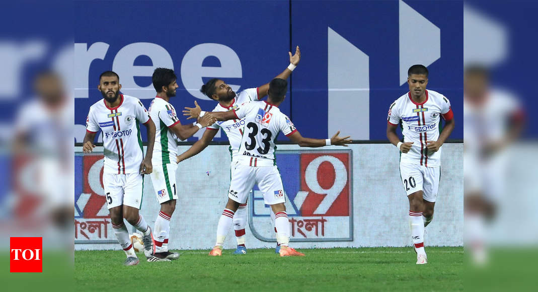 Roy Krishna, Manvir Singh seal ATK Mohun Bagan's first ISL derby win | Football News – Times of India