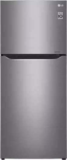 LG 427 L Direct Cool Double Door 2 Star (2020) Refrigerator  (Shiny Steel, GN-C422SLCU)