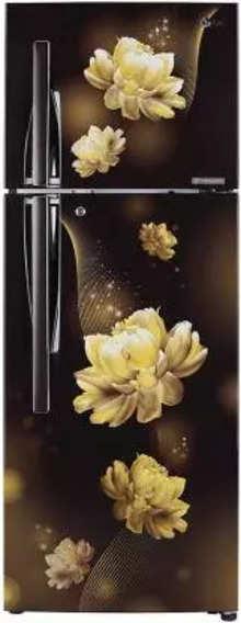 LG 284 L Frost Free Double Door 2 Star (2020) Convertible Refrigerator  (Hazel Charm, GL-T302RHCY)