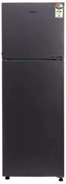 Haier 258 L Frost Free Double Door 3 Star (2020) Convertible Refrigerator  (Brushline Silver, HRF-2783BS-E)