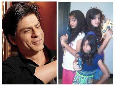When SRK babysit Suhana, Ananya & others