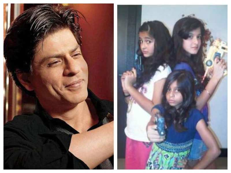 Did you know Shah Rukh Khan used to babysit Suhana Khan, Shanaya Kapoor, Ananya Panday, and other kids when Gauri partied with her friends?