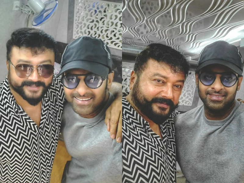Jayaram joins the sets of Radhe Shyam