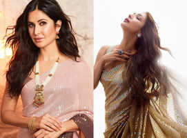 Katrina vs Malaika: Who wore the sari better?