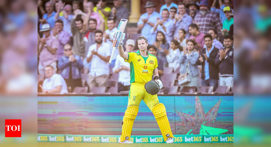 India vs Australia 1st ODI: Found nice rhythm but there wasn't a lot of pressure, says Steve Smith | Cricket News – Times of India