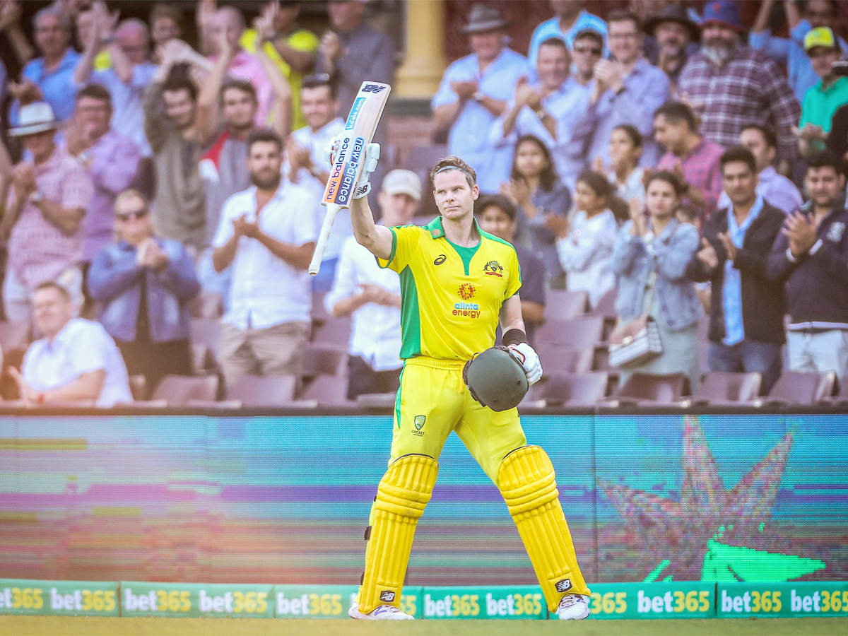 India vs Australia 1st ODI: Found nice rhythm but there wasn't a lot of  pressure, says Steve Smith | Cricket News - Times of India