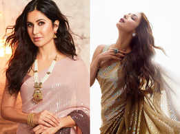 Katrina or Malaika: Who wore the ombre sari better?