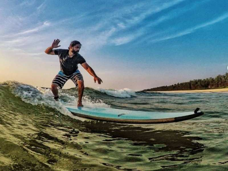 Aravinnd Iyer's latest surfing pictures leave fans in awe