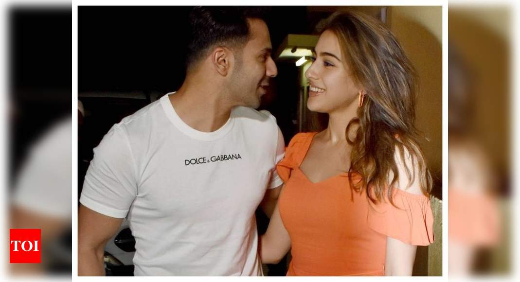 'Coolie No 1': Varun Dhawan reveals the story of how he first met Sara Ali Khan and it is sure to leave you in splits – Times of India