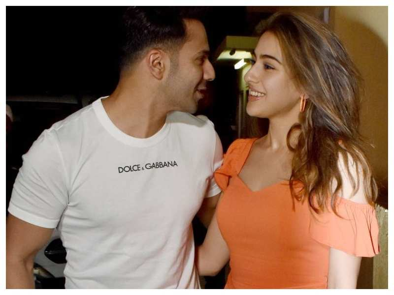 'Coolie No 1': Varun Dhawan reveals the story of how he first met Sara Ali Khan and it is sure to leave you in splits