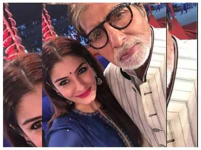 Throwback: When Big B inspired Raveena