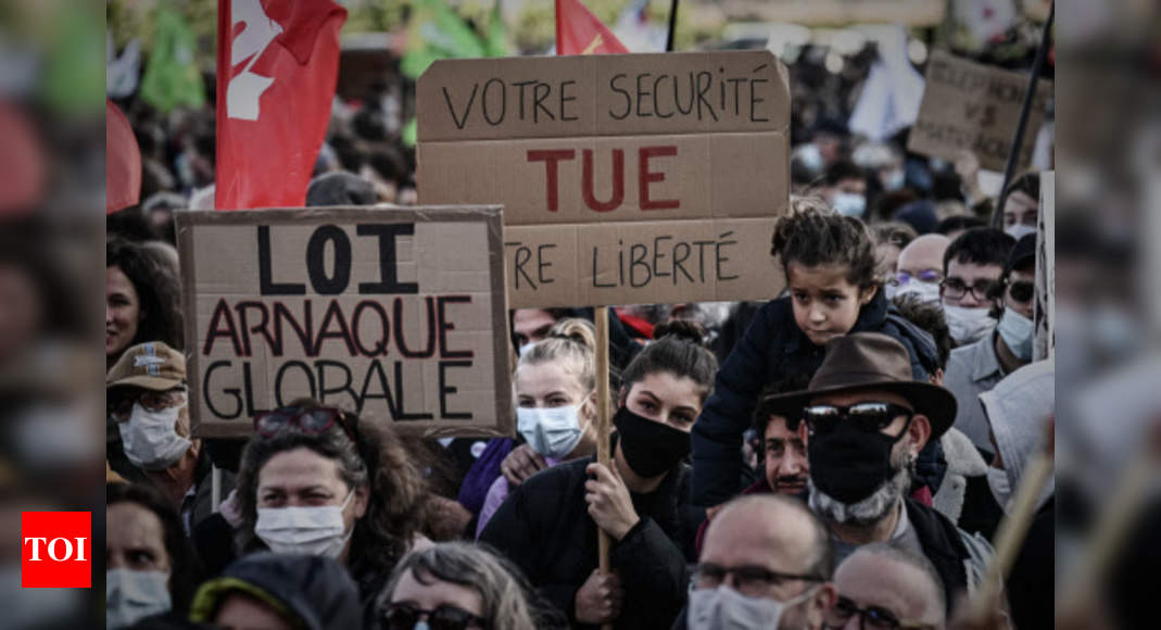 Thousands protest as France reels from police violence – Times of India