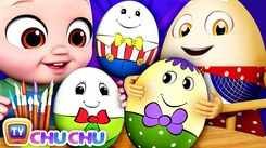 English Nursery Rhymes: Kids Video Song in English 'The Humpty Dumpty Game'