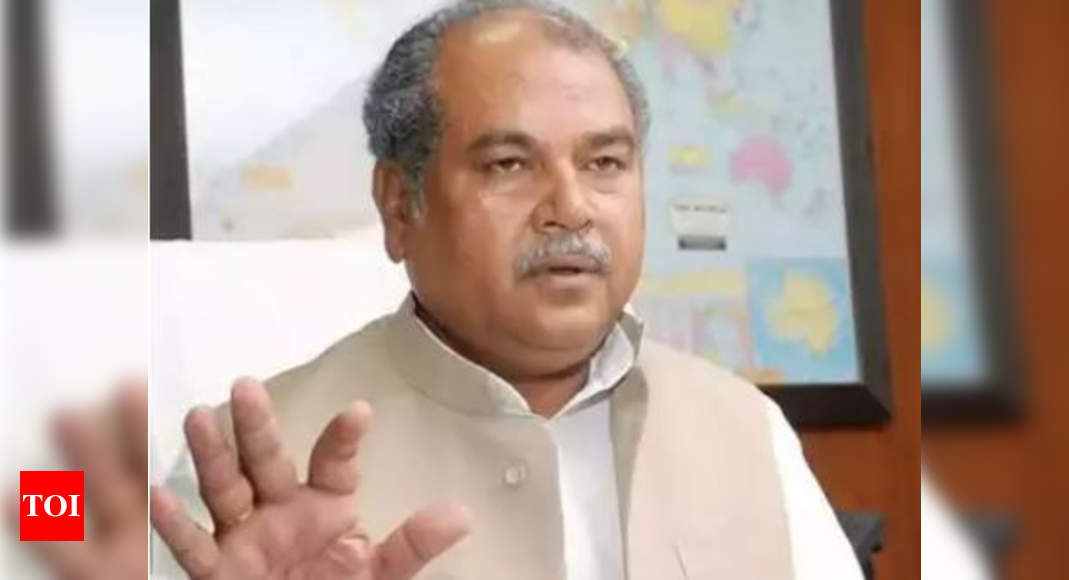 Government ready for talks with protesting farmers anytime: Narendra Singh Tomar | India News – Times of India