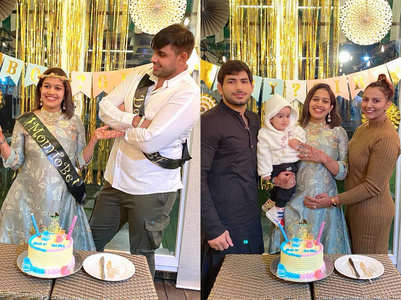 Babita Phogat's pics from baby shower