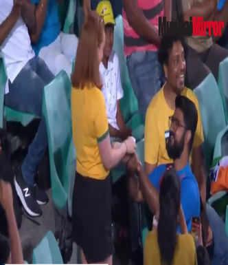 St Joseph's boy wins over Aussie girlfriend at second ODI