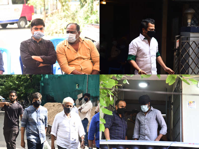 Celebs pay their respects to director Siva's father
