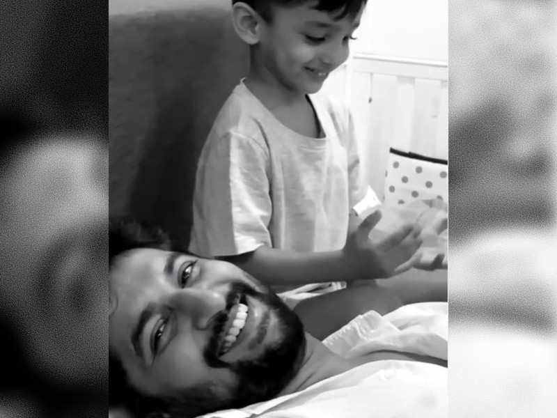 Nani and his son Arjun's adorable video will steal your hearts