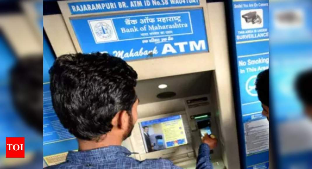 ATMs in rural India:  Jan Dhan, cash transfers boost ATMs in Bharat – Times of India