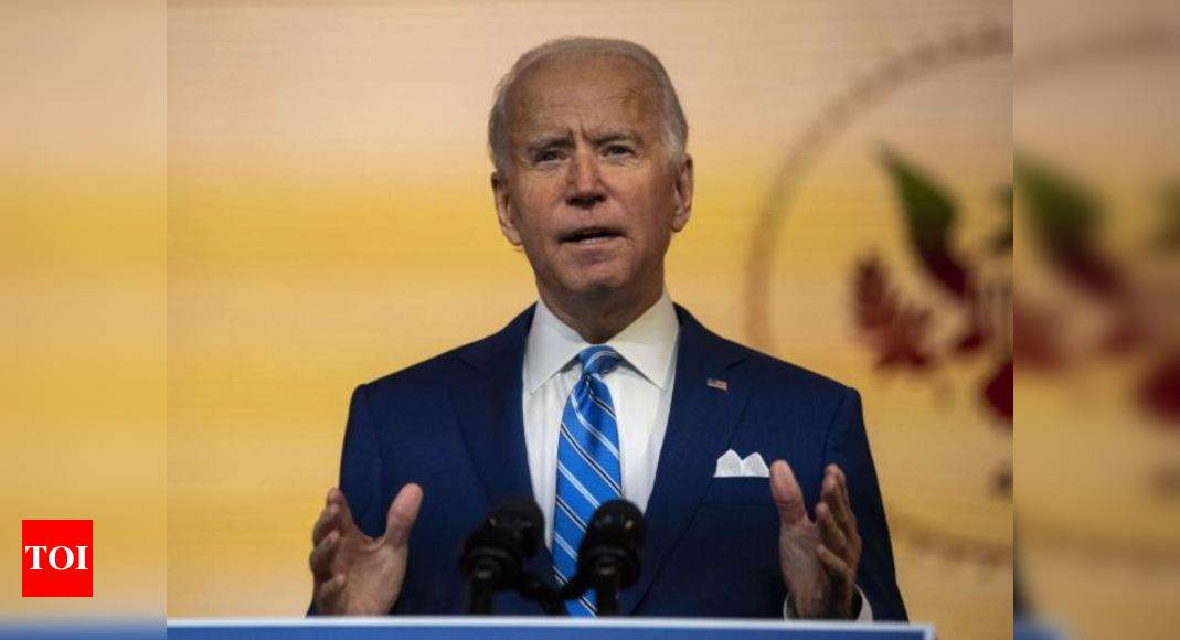 Joe Biden fractures foot while playing with dog, to wear a boot - Times of India