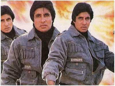 Big B's pic from a film that was never made