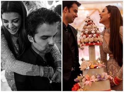 Kajal shares candid pics with Gautam