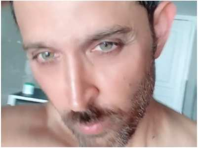 Check out Hrithik's trimmed beard look