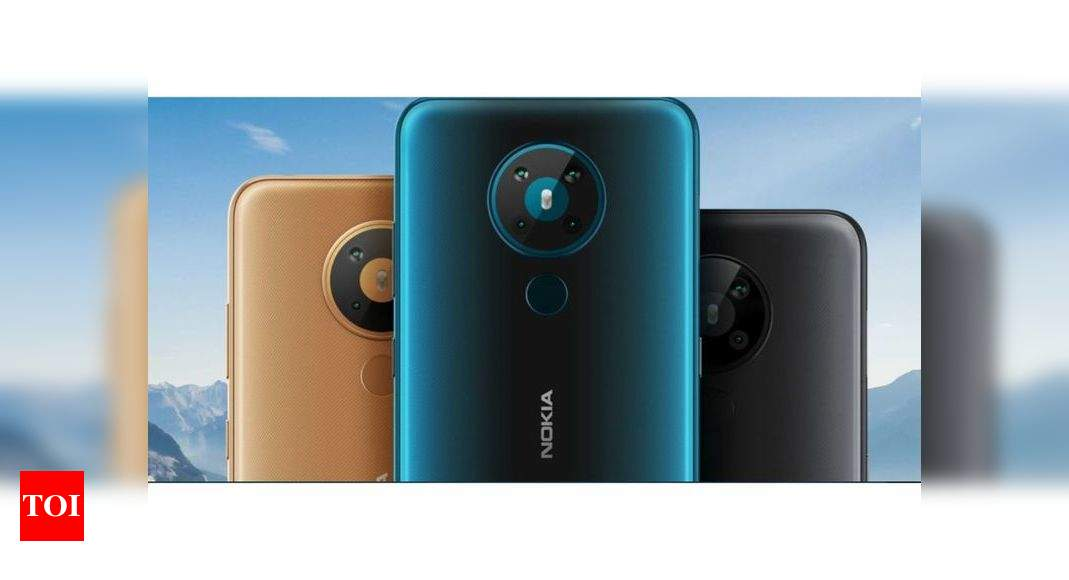 Nokia 5.4:  Nokia 5.4 smartphone with quad-camera expected to launch soon – Times of India