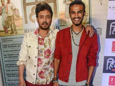 Babil shares a hilarious meme of Irrfan Khan