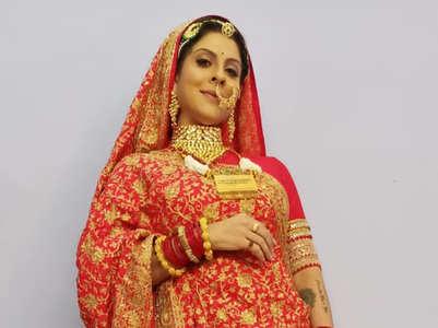 Tanaaz on wedding sequence in ABTA