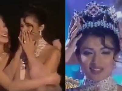 Priyanka posts the video of her Miss World win