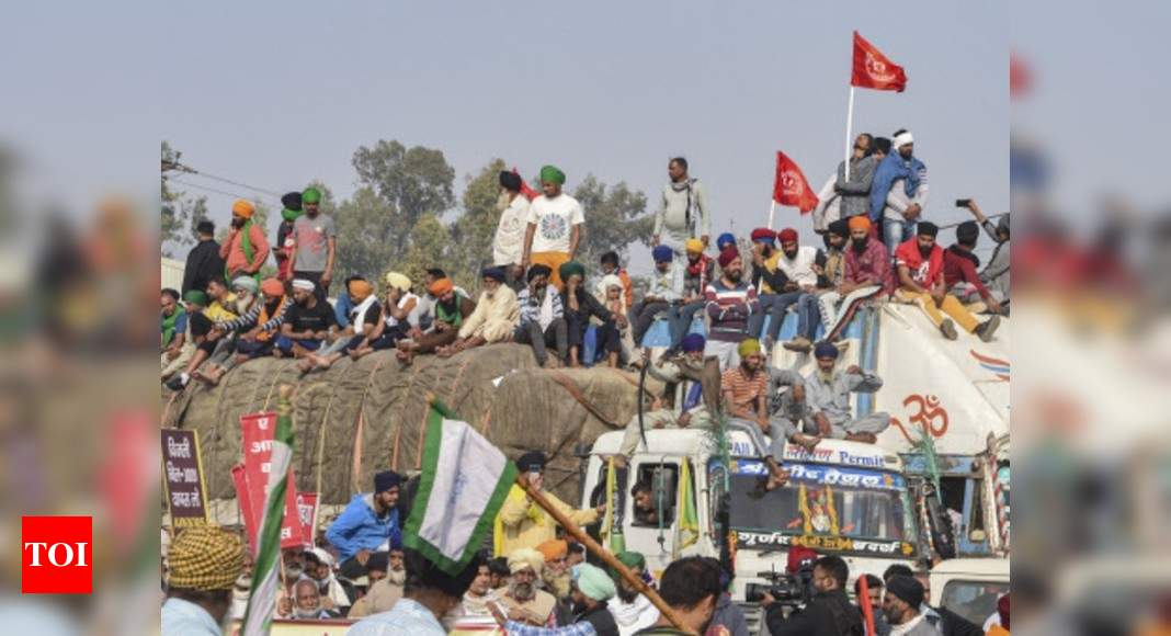 Stalemate continues over fresh talks offer, farmers vow to make protests a pan-India movement | India News – Times of India