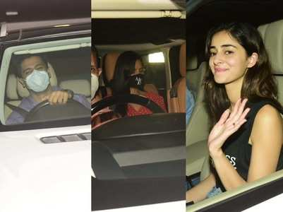 Photos: Celebs at Karan Johar's residence