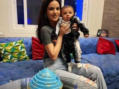 Pic: Natasa-Hardik's son turns 4 months