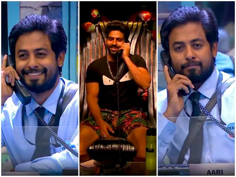 Bigg Boss Tamil 4: Balaji takes his revenge on Aari in Call Centre task