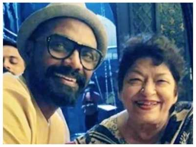 Saroj Khan wanted Remo to make her biopic