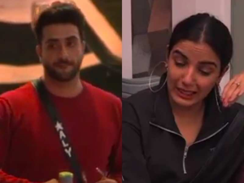 Bigg Boss 14 shocking twist: Jasmin Bhasin cries inconsolably after BB announces eviction between Aly Goni and her, watch promo