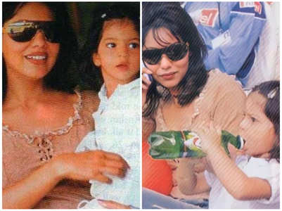 Throwback: Gauri & baby Suhana's adorable pic