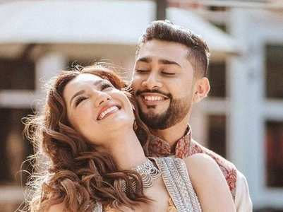 Gauahar's romantic photos with Zaid Darbar