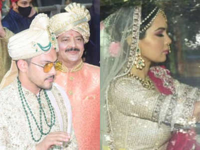 Aditya, Shweta's first look as dulha-dulhan