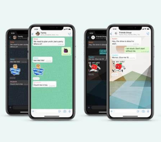 WhatsApp adds new wallpaper, stickers and more